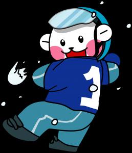 プリクマくん(雪合戦)