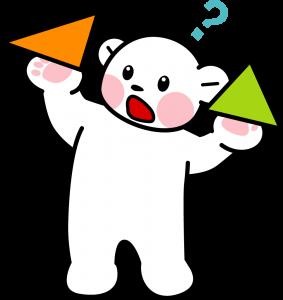 プリクマくん(三角形)